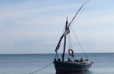 A local dhow in the bay
